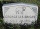 Profile photo:  George Lee Bright