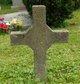 "Profile photo:  ""Unmarked Stone Cross"", I"