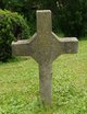 "Profile photo:  ""Unmarked Stone Cross"""", II"