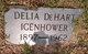Profile photo:  Delia <I>DeHart</I> Icenhower