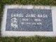 Profile photo:  Carol Jane Nash