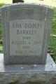 Profile photo:  Ada Dooley Barkley