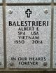 Profile photo:  Albert Edward Balestrieri