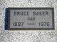 Profile photo:  Bruce Baker, Sr