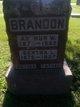 Profile photo:  Bertha Leila <I>Bishop</I> Brandon