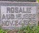 Profile photo:  Rosalie <I>Pierce</I> Ashby