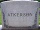 Anna Lee <I>Stockard</I> Atkerson