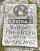 Louisa Jane <I>Moore</I> King