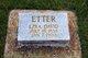 Ezra David Etter