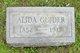 Profile photo:  Alida Edith Guider