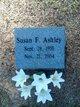 Profile photo:  Susan Frances Ashley