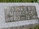 Profile photo:  Agnes E. McGeorge