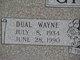 Dual Wayne Gibson