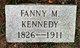 Profile photo:  Fannie Kennedy