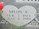 Profile photo:  Arlon Vernon Akridge