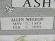 Allen Weldon Ashworth