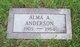 Alma A. Anderson