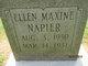 Profile photo:  Ellen Maxine Napier