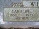 Profile photo:  Caroline <I>Sparrow</I> Wiler