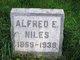 Profile photo:  Alfred E Niles