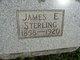 James E Sterling