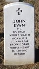 Profile photo:  John Evan