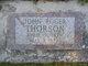 Profile photo:  John Roger Thorson