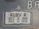 Profile photo:  Ruby Ruth <I>Fox</I> Ballard