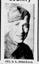 Profile photo: Cpl Linton Charles <I> </I> Armatage,