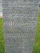 Sabin Thompson