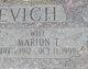 """Profile photo:  Marion """"Mary"""" <I>Saso</I> Blazevich"""
