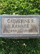 Catherine R Ramage