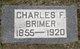 Profile photo:  Charles Fordyce Brimer