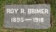 "Profile photo:  Roy Raymond ""Ray"" Brimer"