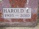Profile photo:  Harold Edward Bruns