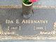 Ida Elizabeth <I>Lafarlette</I> Abernathy