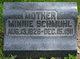 Louisa Wilhelmina Marie <I>Kitzerow</I> Schmuhl