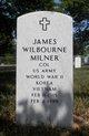 Profile photo: Col James Wilbourne Milner
