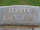 """Nancy Almira """"Nannie"""" <I>Davis</I> Fronk"""