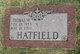 "Profile photo:  Thomas Wayne ""Tom"" Hatfield"