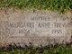 Margaret Anne <I>Rice</I> Trevor