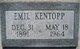 Emil William Kentopp