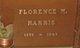 Florence <I>Marx</I> Harris