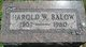 Harold W. Balow