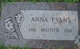 Anna Cecilia <I>Cain</I> Evans