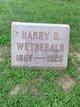 Harry O. Weatherald