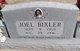 Profile photo:  Albert Joel Bixler, Jr