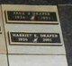Harriet E Draper