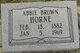 Profile photo:  Abbie <I>Brown</I> Horne