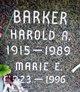 Harold A Barker
